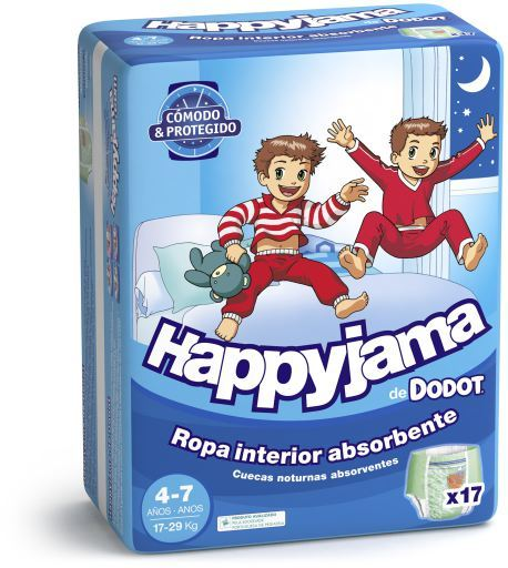 dodot-happyjama-size-4-7-child-17-unita