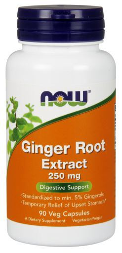 Now Foods Ginger Root Extract 250Mg