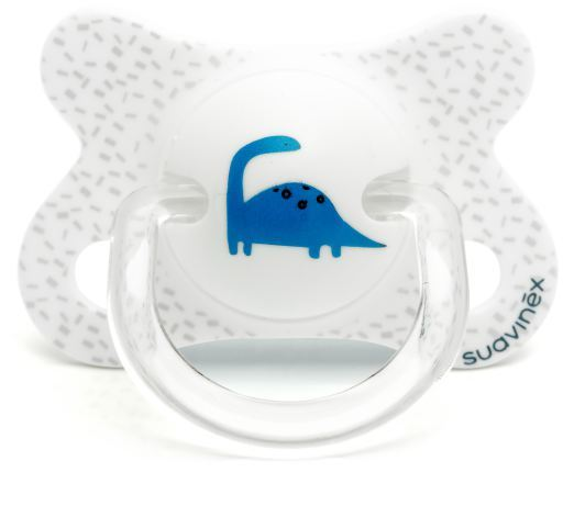 suavinex-dino-white-physiological-pacifier-2-to-4-months-28-gr