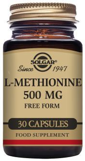 Solgar L Methionine 500 Mg 30 Vegetable Capsules