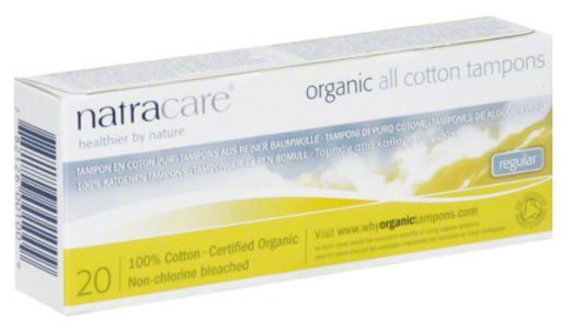 5 x 20 Tampons Regular Organic Natracare