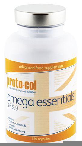 Proto Col Omega Essentials 3 6 9 120 Capsulas