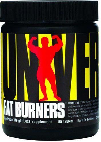 Arzator de grasimi Universal Fat Burners 55 Tabs | Universal - Slabit-Arderea grasimilor