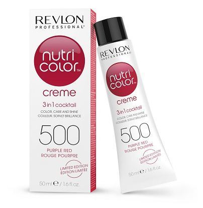 Nieuw Revlon Nutri Color 500-Red Purple 50 ml KS-94
